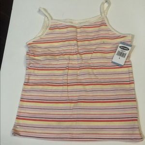 NWT Old Navy tank top with bra large